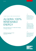 Algeria 100% renewable energy