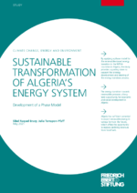 Sustainable transformation of Algeria's energy system