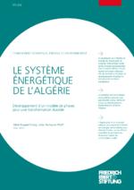 Le système énergétique de l'Algérie